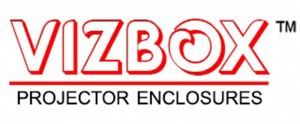 VIZBOX weatherproof projector enclosures
