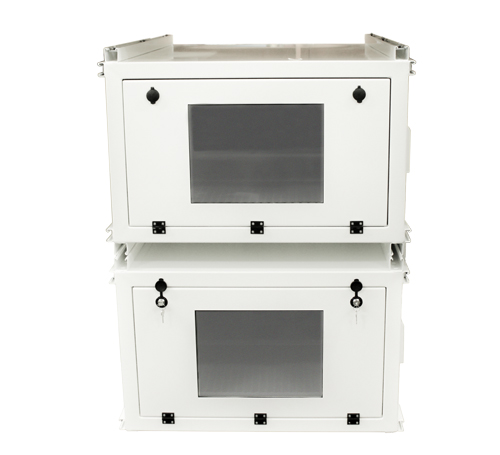 stacking AV enclosures