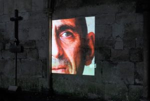 salisbury cathedral outdoor projection with vizbox