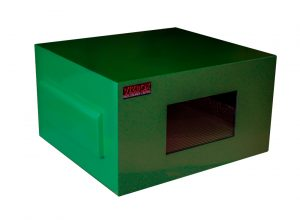 Africa outdoor projector enclosure in green
