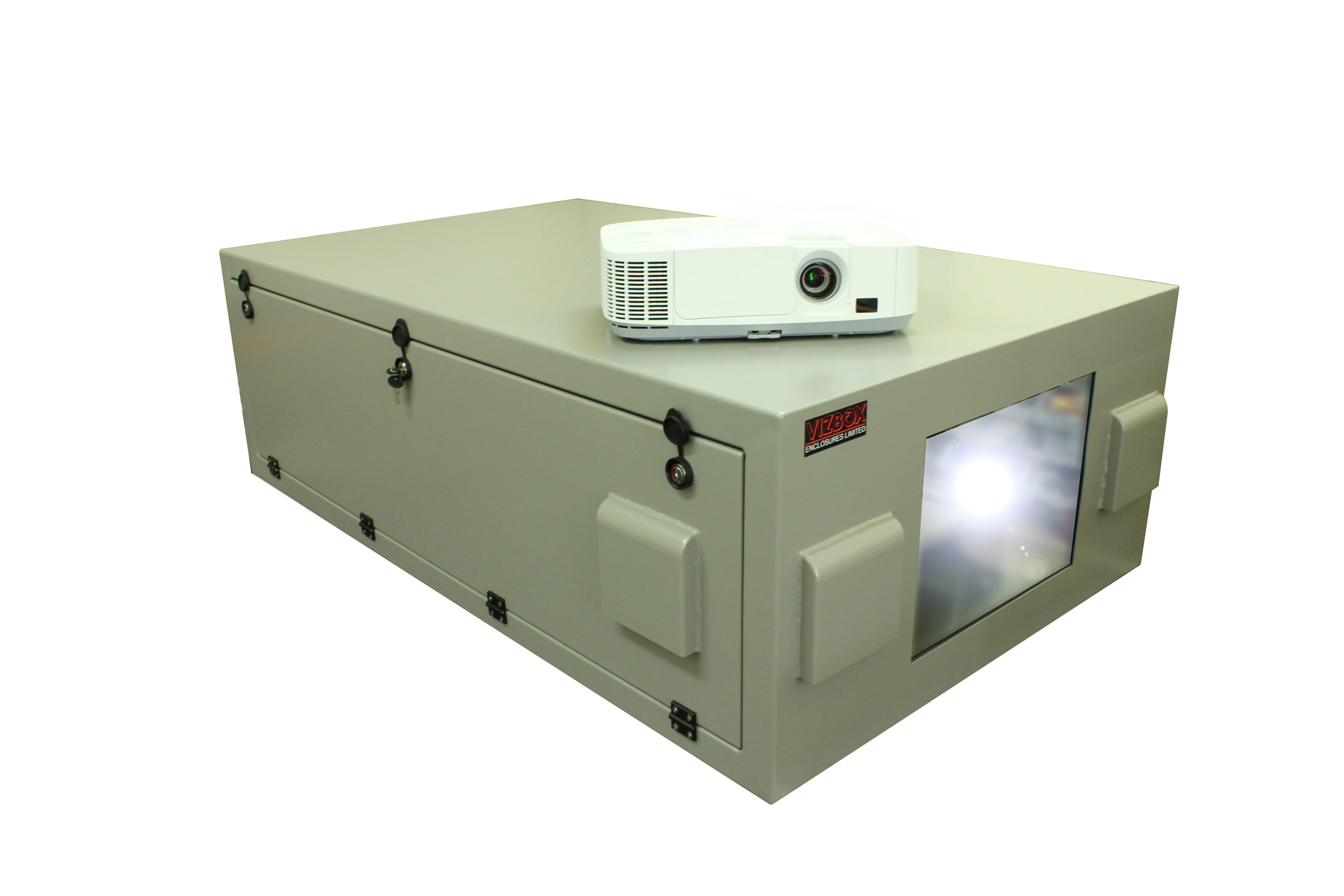 Christie Boxer projector enclosure