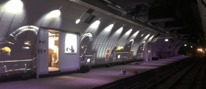 underground outdoor enclosures mail rail