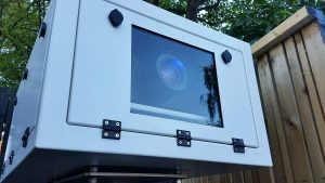 Projector Enclosure Installed outdoors Canterbury