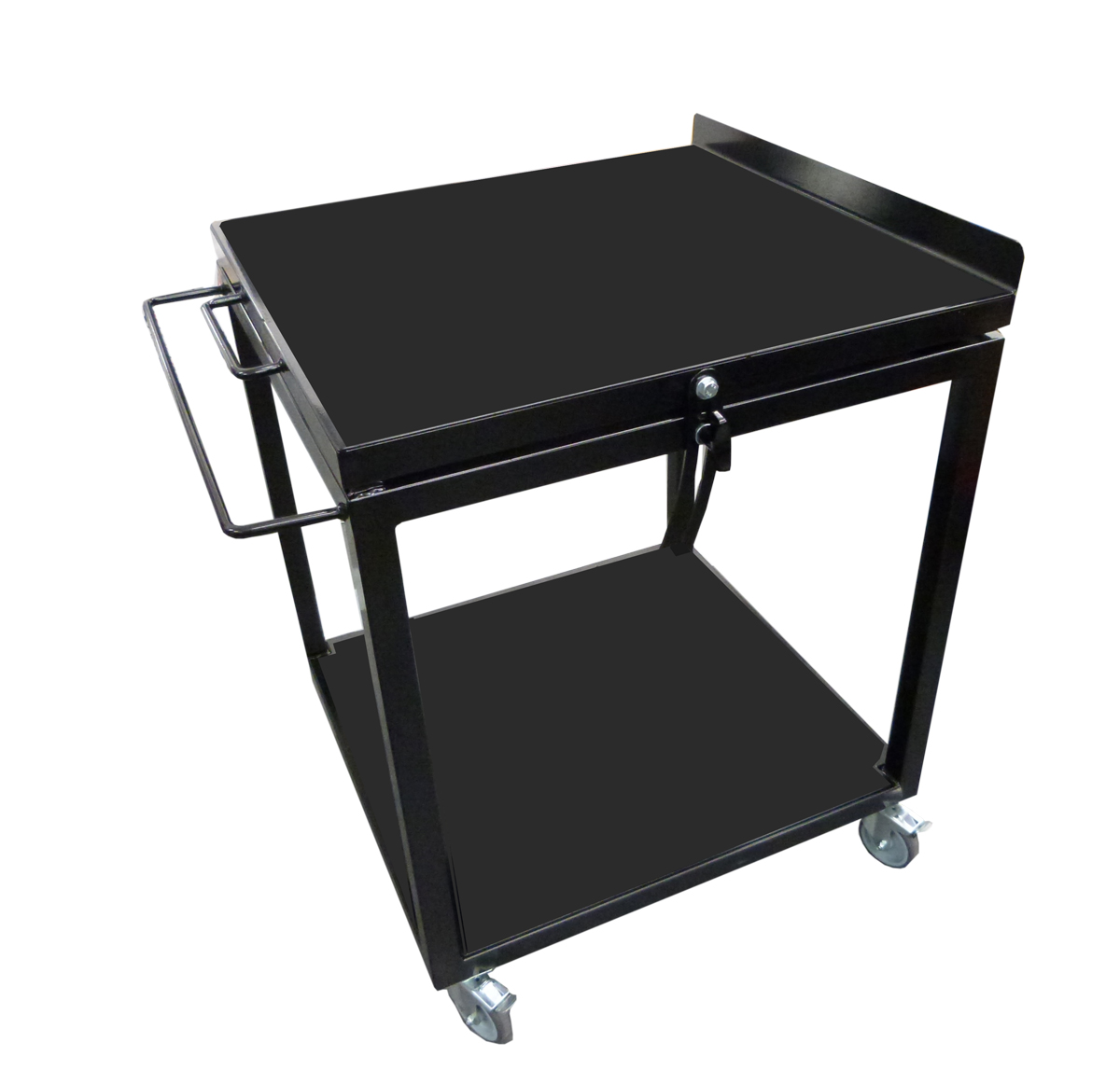 Projector trolley with adjustable tilt closed March 2020