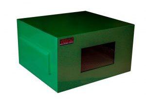 Africa outdoor projector enclosure in green