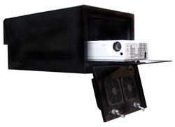 outdoor projector enclosure bespoke