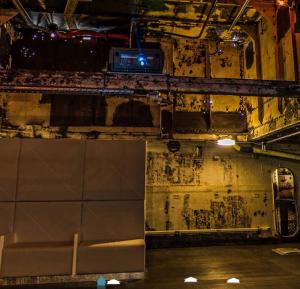 outdoor projector enclosure Royal Navy HMS M33