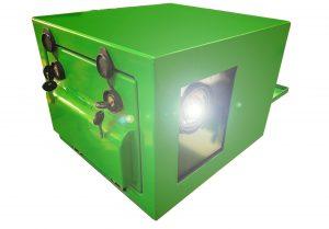 outdoor golf projector enclosure