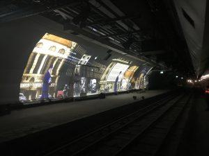 Mail Rail projection via VIZBOX enclosures