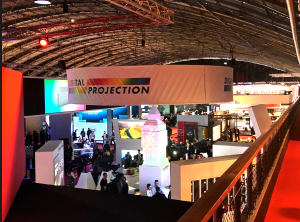Digital Projection ISE stand Amsterdam