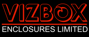 vizbox outdoor projector enclosure logo