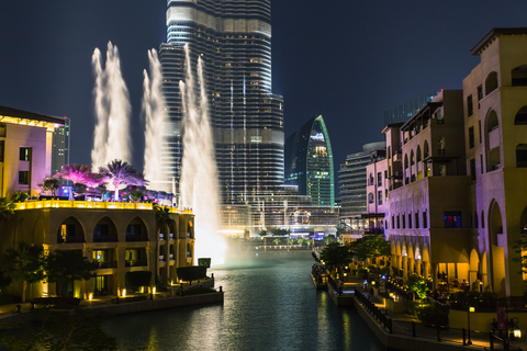 Record-setting fountain system set on Burj Khalifa