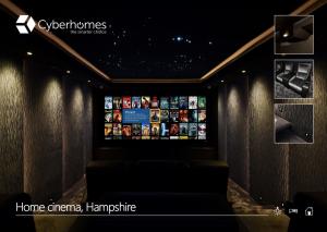 Best Home Cinema with VIZBOX Enclosure