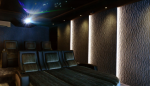 Home Cinema silencer enclosure