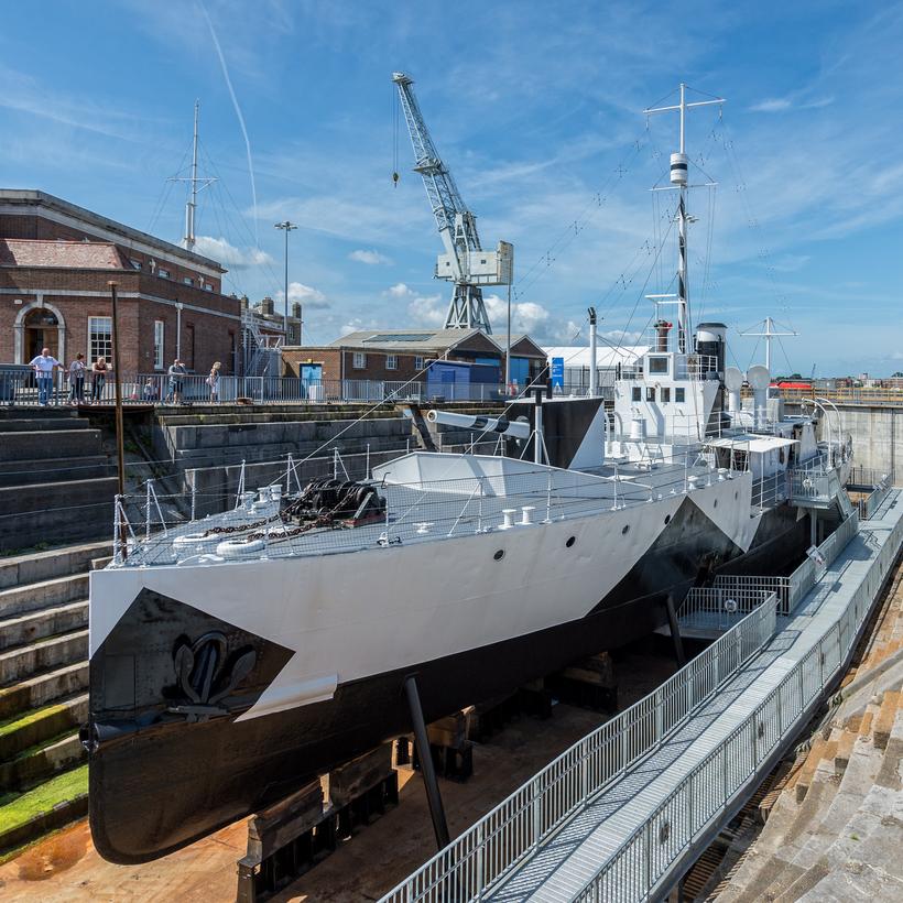 HMS M33 Royal Navy