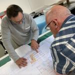 Bassins de Lumieres planning UK office