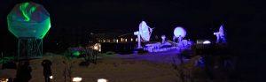North Pole VIZBOX Enclosuresprotecting outdoor projector
