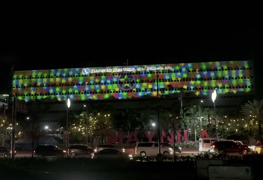 First video mapping using outdoor projector enclosures in Philippines