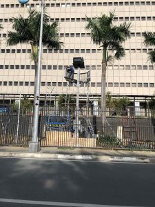 Mounting projector enclosures in Philippines