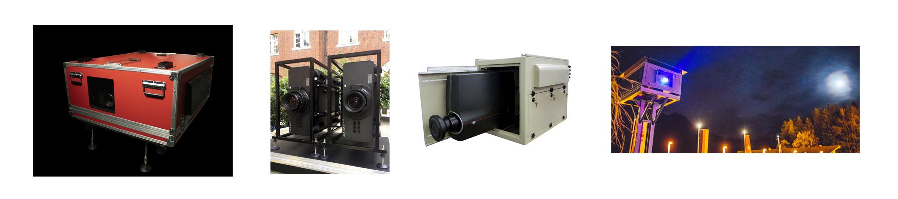 4 types of Outdoor Projector Enclosures